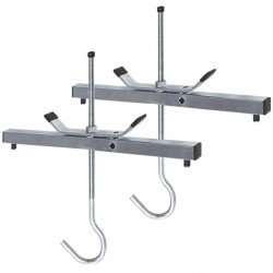 Pair of Ladder roof rack clamp