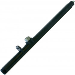 Replacement inlet manifold for wheeled metal hose reel