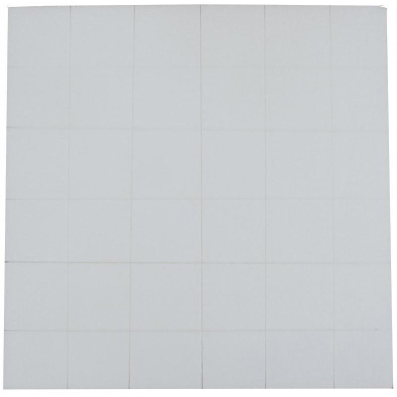 "Furniture foam ""snap"" blocks sheet"