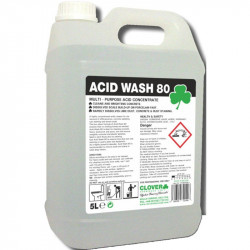 Clover Acid Wash 80 Extra Strength Acidic Toilet Descaler 5L