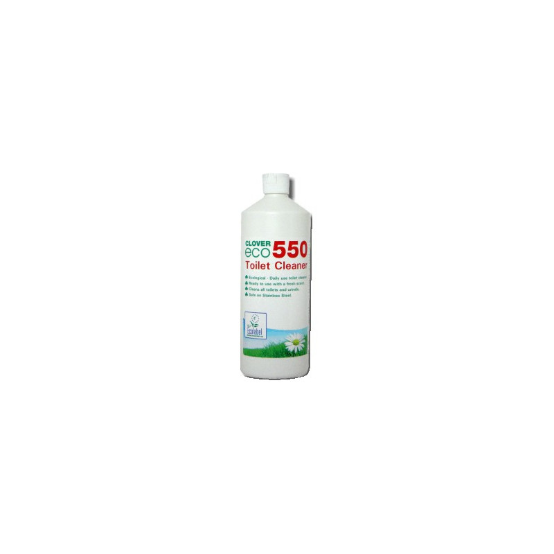 Clover Eco550 Toilet Cleaner 1L