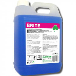 Clover Brite Glass and Plastic Cleaner 5L