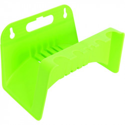 Plastic wall hose hanger