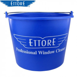 Ettore Round Bucket 12L for window cleaning