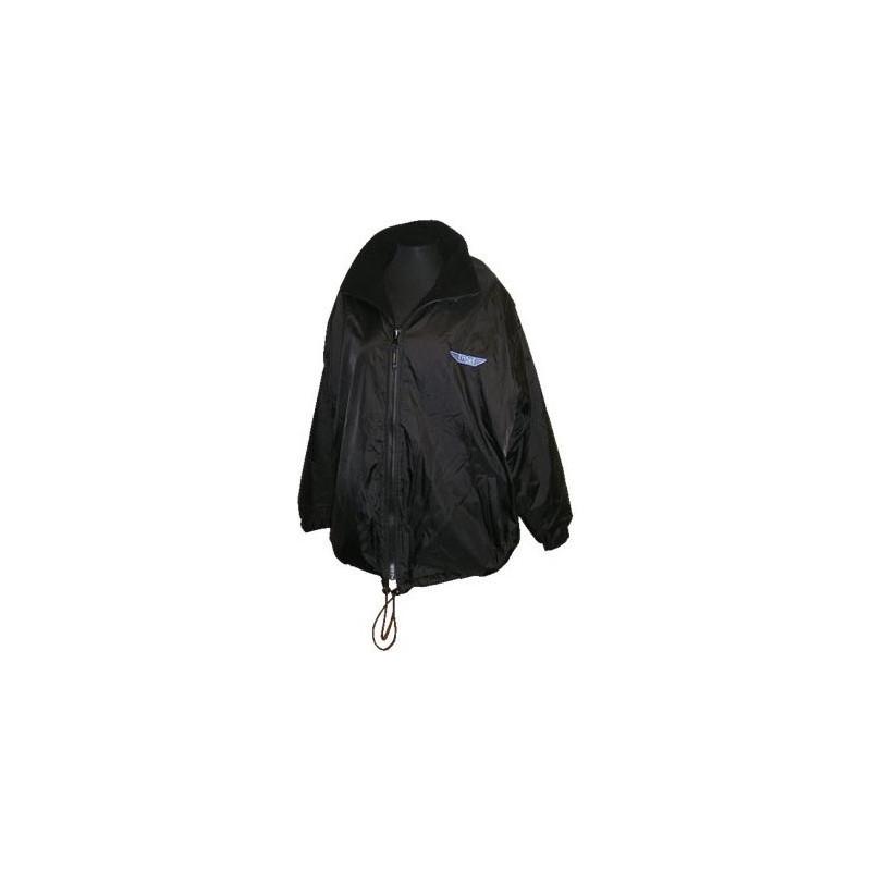 Ettore Fleeced Lined Shower Proof Coat - Black