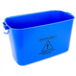 SPOTLESS Oblong Bucket 9L Blue