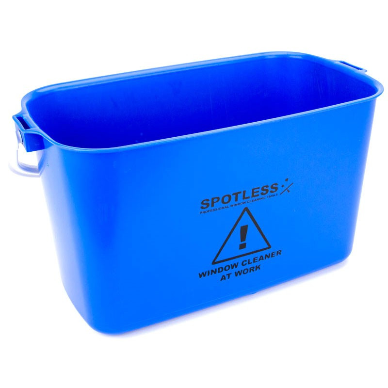 SPOTLESS Oblong Bucket 9L Blue