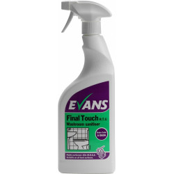 Evans Final Touch Toilet and Washroom sanitiser 750ml