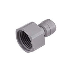 "Connector 1/4"" JG-type to 3/4"" thread"