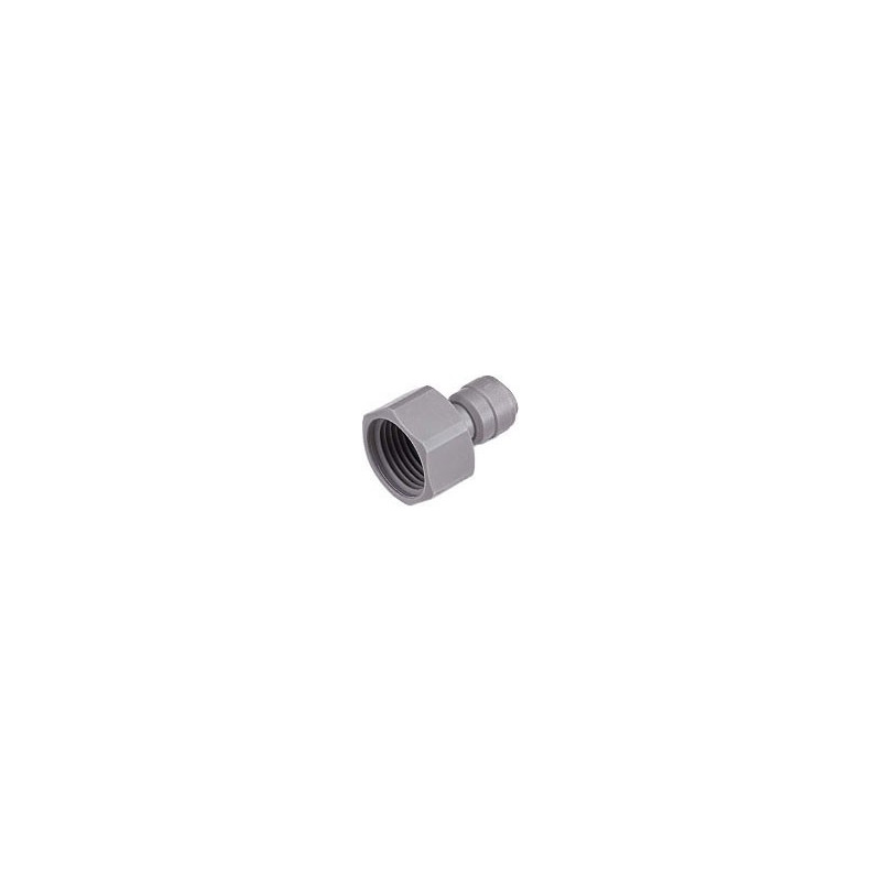 """Connector 1/4"""" JG-type to 3/4"""" thread"""