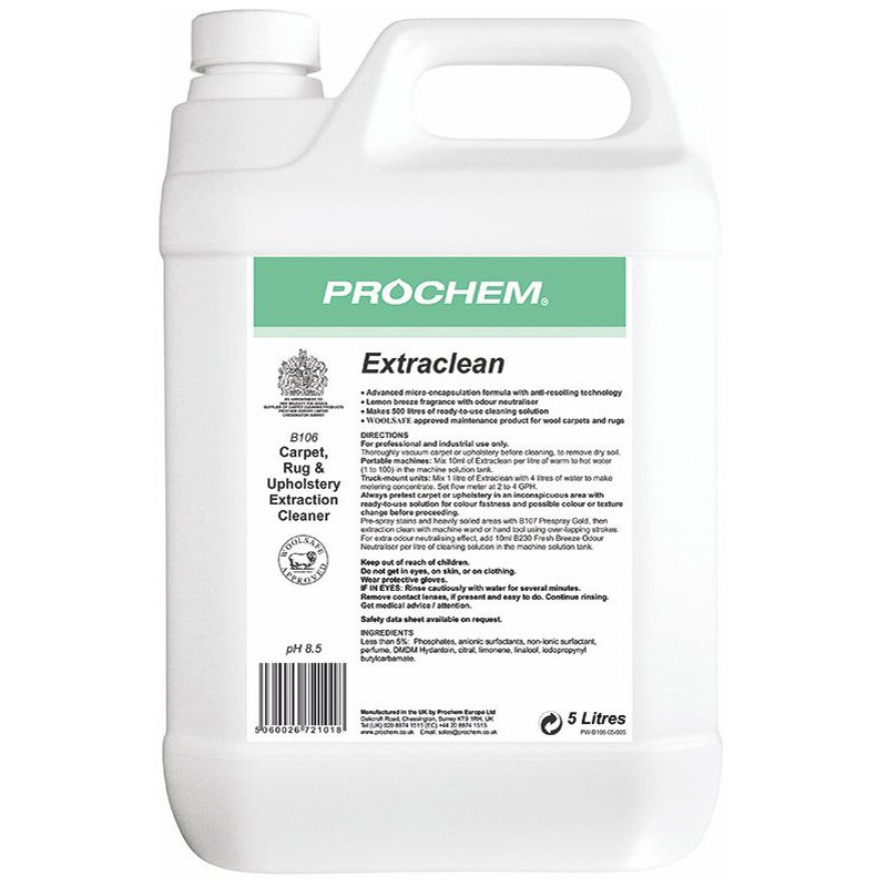 Prochem Extraclean - Fine Fabric Detergent 5L