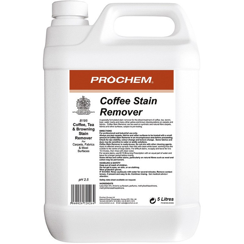 Prochem Coffee Stain Remover 5L
