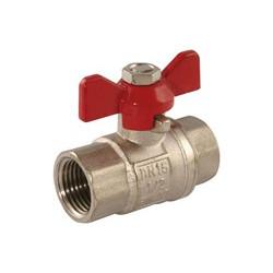 """Butterfly Ball valve 1/4"""" FF"""