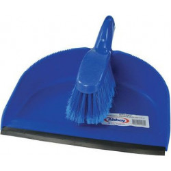 Blue Professional Dustpan & SOFT Brush set