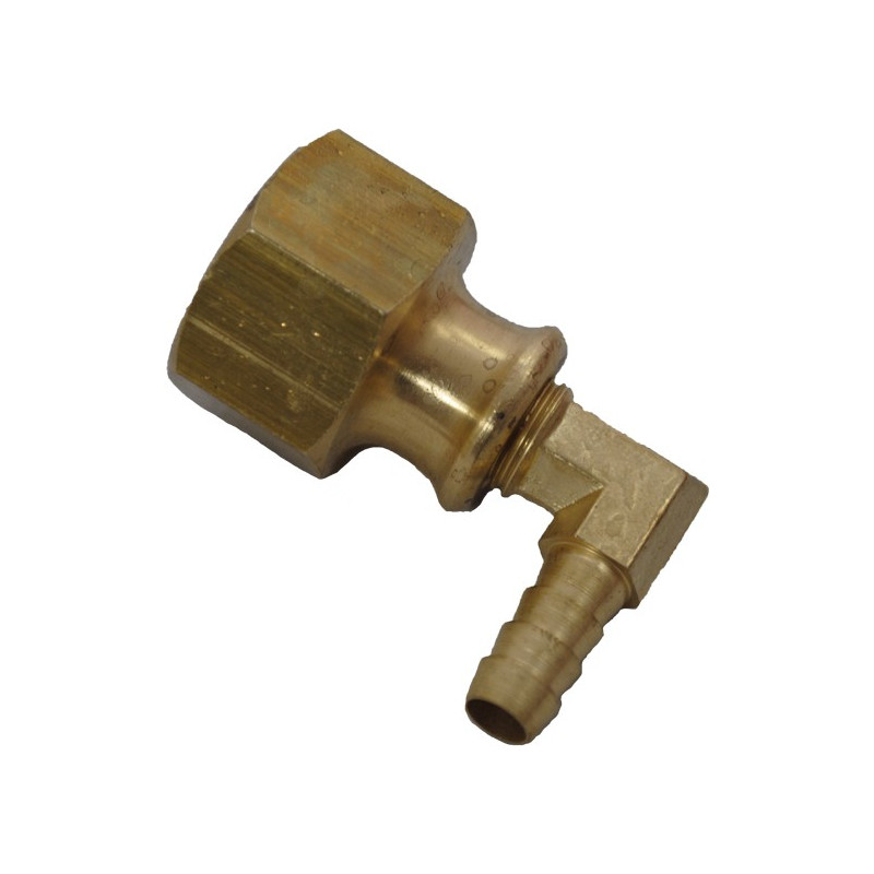 Brass Elbow Adapter Complete for Metal Hose Reel for Minibore 8mm