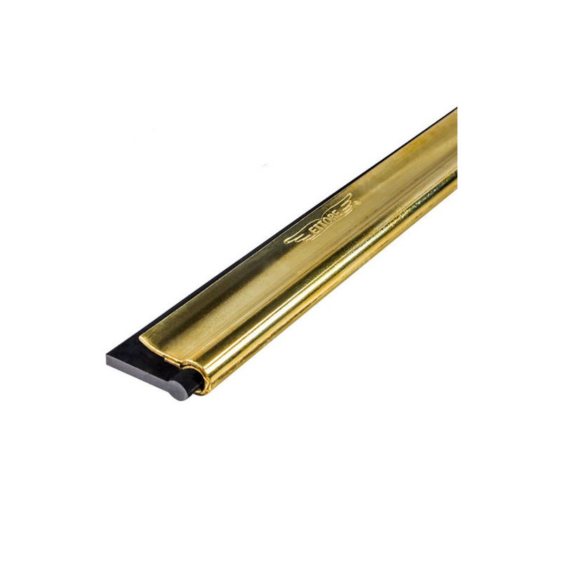 """Ettore Brass channel with rubber 12"""""""